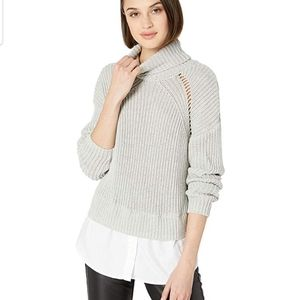 Nicole Miller New York high neck pullover sweater